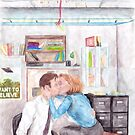 XFiles Mistletoe Smooches by MarinaDekker