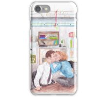 XFiles Mistletoe Smooches iPhone Case/Skin