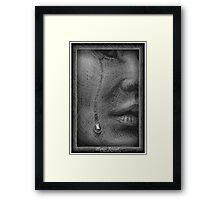 Human Afterall  Framed Print