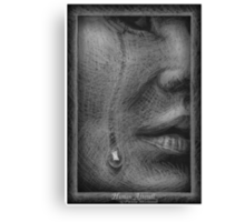 Human Afterall  Canvas Print