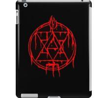 Flame Alchemist Transmutation Circle iPad Case/Skin