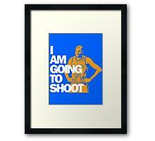 I am going to Shoot Framed Print