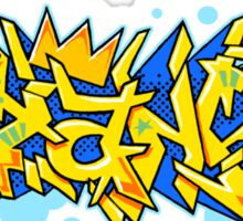 istanbul graffiti Sticker