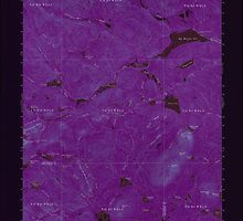 Maine USGS Historical Map Mooseleuk Lake 306670 1963 62500 Inversion by wetdryvac