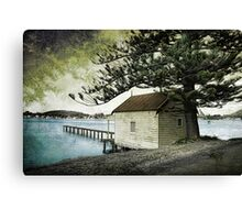 Boat House Canvas Print