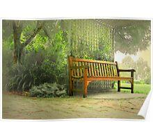 Fagan Park Bench #2 Poster