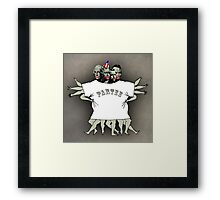 tee party Framed Print