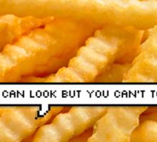 Sassy A$$ Fries Sticker