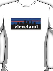Cleveland, skyline silhouette. T-Shirt