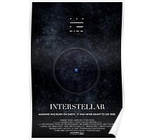 Interstellar - Wormhole Poster Poster
