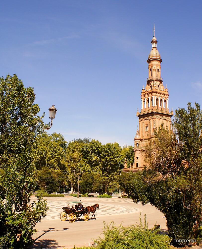 Plaza de España, Sevilla by contremo