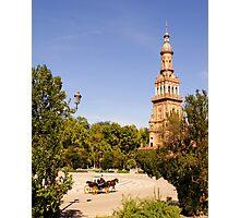 Plaza de España, Sevilla Photographic Print