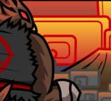 Bird Fighter - Abuma Sticker