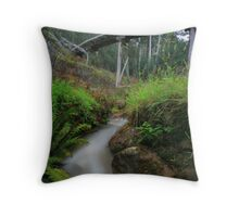 old tramline bridge  Throw Pillow