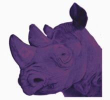 Purple Rhino by Zach Muldoon