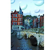 Magic Cork city, Ireland Photographic Print