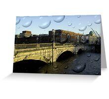 Irish city, Cork, Ireland Greeting Card