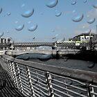 One of the most beautiful bridges in Dublin, Ireland by Barbara Ignasiak