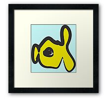 babel fish oil painting style Framed Print