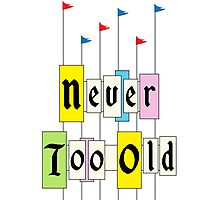 Never too Old 1955 Photographic Print
