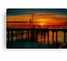 """Sunrise at the Heads"" Canvas Print"