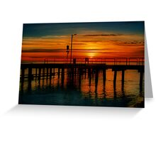 """Sunrise at the Heads"" Greeting Card"