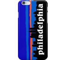 Philadelphia, skyline silhouette iPhone Case/Skin