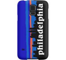 Philadelphia, skyline silhouette Samsung Galaxy Case/Skin