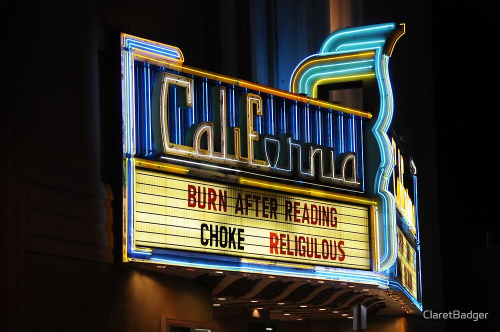 California Theatre, Berkeley, CA by ClaretBadger