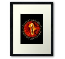 The One Eye Framed Print