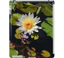 Forest Park water lilies iPad Case/Skin