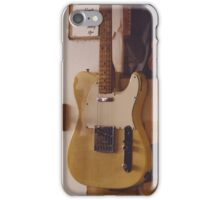 Fender Telecater - Vintage Guitar Store iPhone Case/Skin