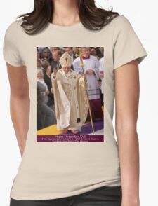 Pope Benedict XVI Womens Fitted T-Shirt
