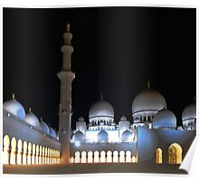 Zayed Grand Mosque Poster