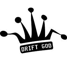 JDM Crown-DRIFT GOD Photographic Print