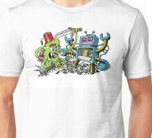 Monster vs Robot Unisex T-Shirt