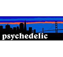 Psychedelic rock, San Francisco Skyline Photographic Print