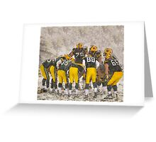 The Frozen Tundra Green Bay Greeting Card