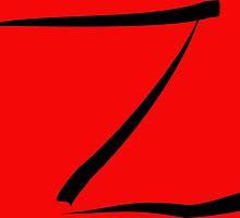 z for zorro or  by YodaWars