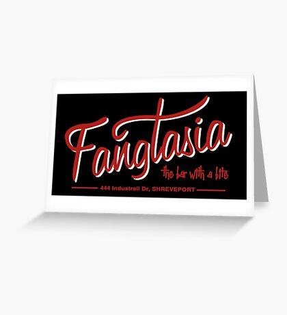 Fangtasia Greeting Card