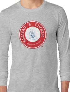 Armbar & Choker BJJ Long Sleeve T-Shirt
