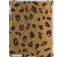 Leopard Spots Big Cat Faux Fur iPad Case/Skin