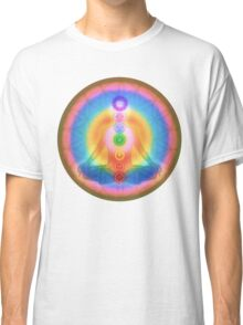 Meditation & the Chakras III Classic T-Shirt