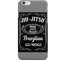 JIU-JITSU DANIELS iPhone Case/Skin