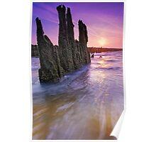 Walberswick Beach Suffolk 1. Poster