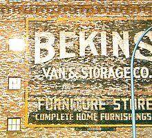 Urban Glyphs by F.  Kevin  Wynkoop