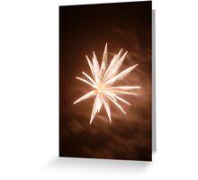 Fireworks 5 Greeting Card