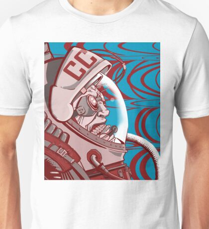 Re-entrY Comrade Red and Blue Unisex T-Shirt