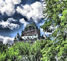 Château Frontenac by Nathalie Chaput