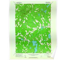 Maine USGS Historical Map Morrill 806941 1960 24000 Poster
